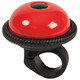 Mounty Ricky Bike Bell red/black